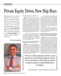 Maritime Reporter Magazine, page 40,  Jul 2014 Greek Shipping Co-operation Committee