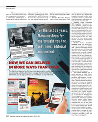 Maritime Reporter Magazine, page 42,  Jul 2014 iPhone
