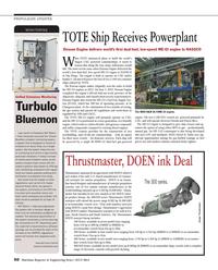 Maritime Reporter Magazine, page 50,  Jul 2014 Turbulo BlueMon emission monitoring system