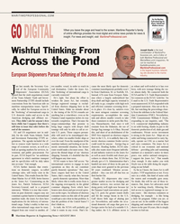Maritime Reporter Magazine, page 8,  Aug 2014