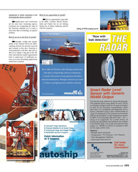 Maritime Reporter Magazine, page 3rd Cover,  Aug 2014