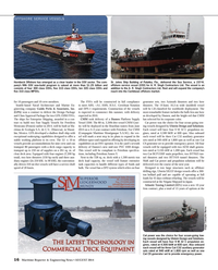 Maritime Reporter Magazine, page 16,  Aug 2014