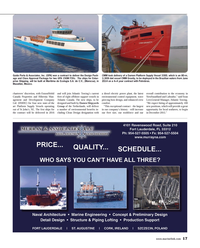 Maritime Reporter Magazine, page 17,  Aug 2014