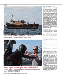 Maritime Reporter Magazine, page 26,  Aug 2014