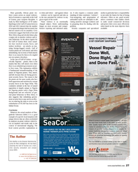 Maritime Reporter Magazine, page 27,  Aug 2014