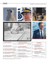 Maritime Reporter Magazine, page 2,  Aug 2014