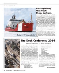 Maritime Reporter Magazine, page 52,  Aug 2014