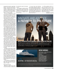 Maritime Reporter Magazine, page 63,  Aug 2014
