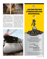 Maritime Reporter Magazine, page 77,  Aug 2014