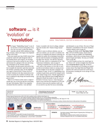 Maritime Reporter Magazine, page 6,  Aug 2014