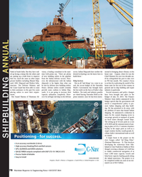 Maritime Reporter Magazine, page 78,  Aug 2014