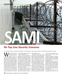 Maritime Reporter Magazine, page 20,  Sep 2014