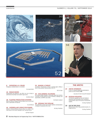 Maritime Reporter Magazine, page 2,  Sep 2014