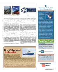 Maritime Reporter Magazine, page 73,  Sep 2014