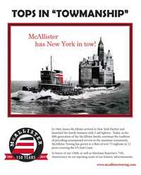 Maritime Reporter Magazine, page 3rd Cover,  Sep 2014
