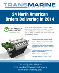 Maritime Reporter Magazine, page 7,  Sep 2014