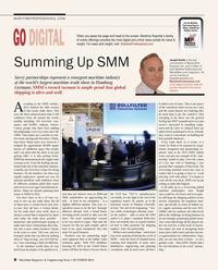 Maritime Reporter Magazine, page 8,  Oct 2014