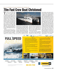 Maritime Reporter Magazine, page 13,  Oct 2014