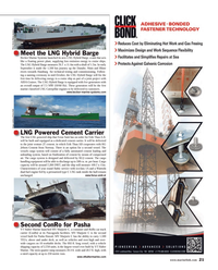Maritime Reporter Magazine, page 21,  Oct 2014