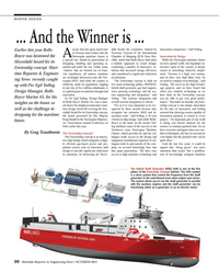 Maritime Reporter Magazine, page 30,  Oct 2014