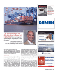 Maritime Reporter Magazine, page 41,  Oct 2014