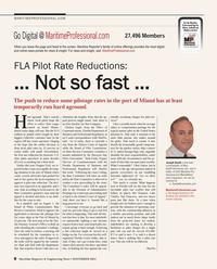 Maritime Reporter Magazine, page 8,  Nov 2014