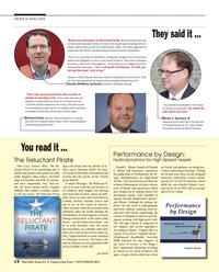 Maritime Reporter Magazine, page 14,  Nov 2014