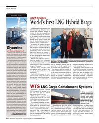 Maritime Reporter Magazine, page 16,  Nov 2014