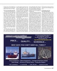 Maritime Reporter Magazine, page 27,  Nov 2014