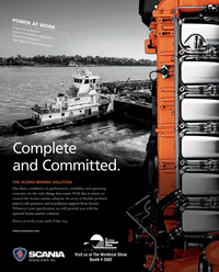 Maritime Reporter Magazine, page 1,  Nov 2014