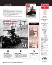 Maritime Reporter Magazine, page 4,  Nov 2014