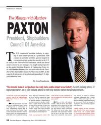 Maritime Reporter Magazine, page 58,  Nov 2014