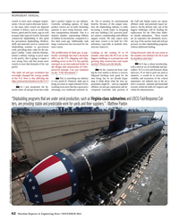 Maritime Reporter Magazine, page 3rd Cover,  Nov 2014