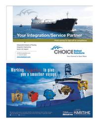 Maritime Reporter Magazine, page 4th Cover,  Nov 2014