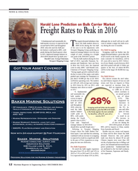 Maritime Reporter Magazine, page 12,  Dec 2014