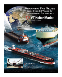 Maritime Reporter Magazine, page 1,  Dec 2014