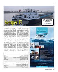 Maritime Reporter Magazine, page 47,  Dec 2014
