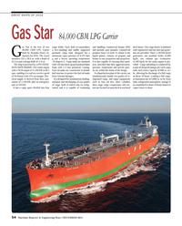 Maritime Reporter Magazine, page 54,  Dec 2014