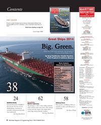 Maritime Reporter Magazine, page 4,  Dec 2014