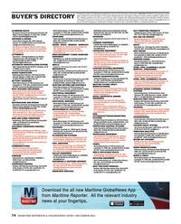 Maritime Reporter Magazine, page 74,  Dec 2014