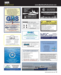 Maritime Reporter Magazine, page 77,  Dec 2014