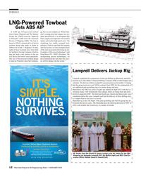 Maritime Reporter Magazine, page 12,  Jan 2015