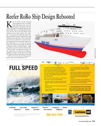 Maritime Reporter Magazine, page 13,  Jan 2015