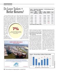Maritime Reporter Magazine, page 14,  Jan 2015