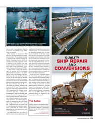 Maritime Reporter Magazine, page 25,  Jan 2015