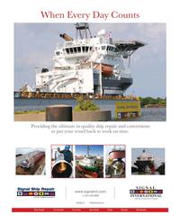 Maritime Reporter Magazine, page 1,  Jan 2015