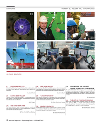 Maritime Reporter Magazine, page 2,  Jan 2015