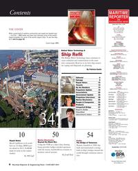 Maritime Reporter Magazine, page 4,  Jan 2015