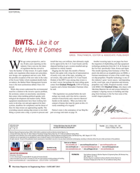 Maritime Reporter Magazine, page 6,  Jan 2015