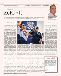 Maritime Reporter Magazine, page 8,  Feb 2015